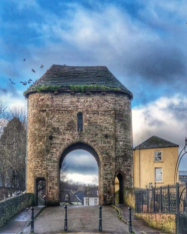 View of Monnow Bridge in January Photo Credit: Shirley Lawton